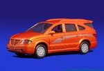 SsangYong Rodius (orange)