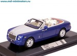 Rolls Royce Phantom Drophead Coupe 2007 (blue)