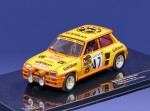 Renault R5 Turbo #47 Rally Monte Carlo 1982