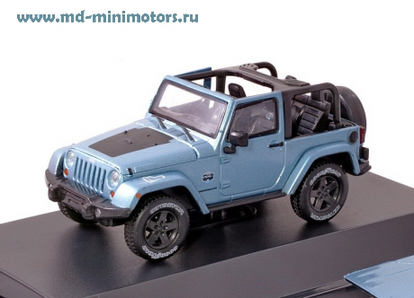 Jeep Wrangler 4x4 Rubicon 2012 (blue)
